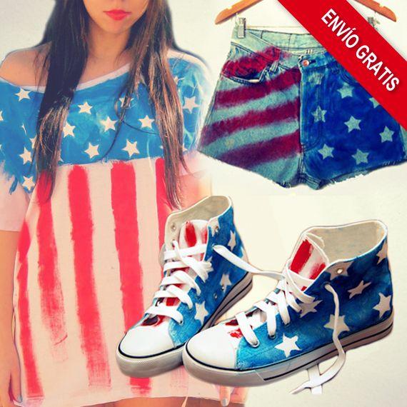 Ya tenéis disponible en exclusiva para Neodalia, la colección American Flag by Addicted2u. Además, si os registráis en Neodalia, tenéis 10€ de regalo por cualquier compra que realicéis.     http://www.neodalia.com/es/ventas/ropa-y-complementos-usa