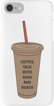 Coffee Talk with Zane and Heath iPhone 7 Cases