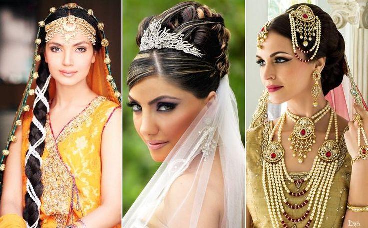 Best 25 Wedding Hairstyles Ideas On Pinterest: 25+ Best Ideas About Indian Bridal Hairstyles On Pinterest