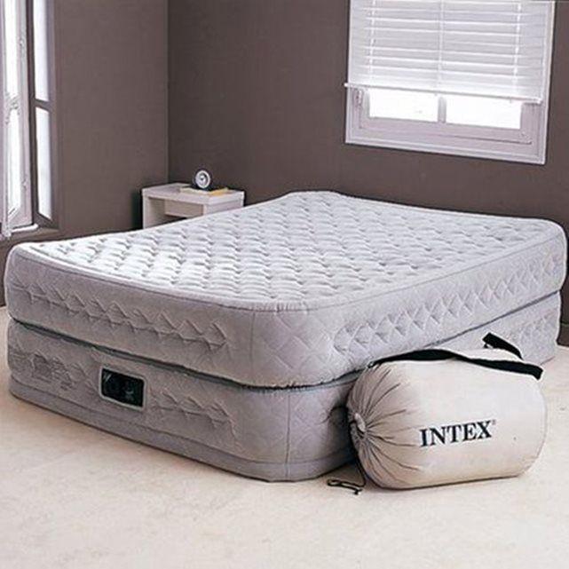 Plus de 25 id es uniques dans la cat gorie lit d appoint - Lit gonflable confort supreme 2 personnes ...