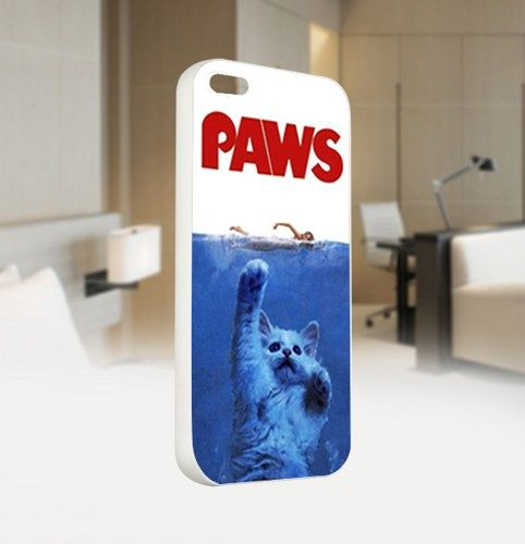 PAWS Movie PARODY - For IPhone 5 White Case Cover