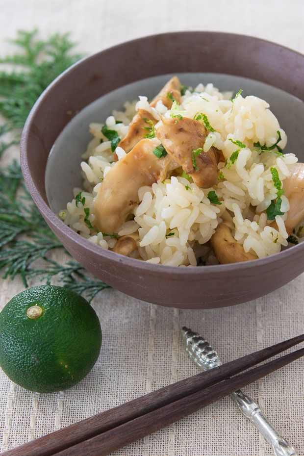 Matsutake gohan (松茸ご飯) or pine mushroom rice is a uniquely fragrant fall delicacy that embodies the essence of Japanese cuisine. @norecipes