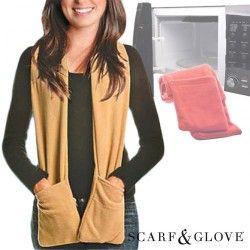 Bufanda Microondas Scarf & Glove