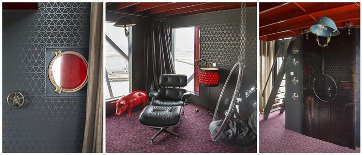 Faralda NDSM Kraanhotel Bijzondere hotels - Hotelsuites
