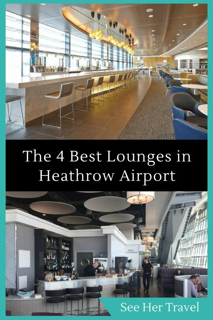 Get rest! Travel doesn't have to be tough with these AMAZING lounges in London's Heathrow Airport, the busiest airport in England!