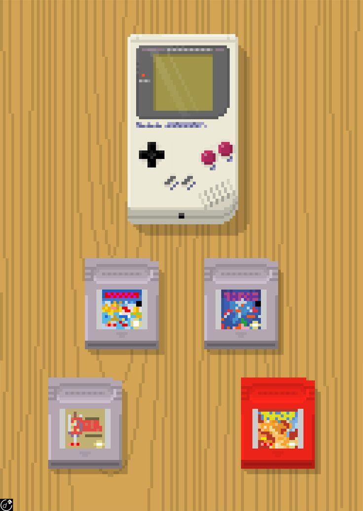 Bin ich froh, dass ich noch zu der Generation gehöre, die mit Konsolen wie dem Super Nintendo oder hier einem Gameboy Color aufgewachsen ist <3 @Snobtop
