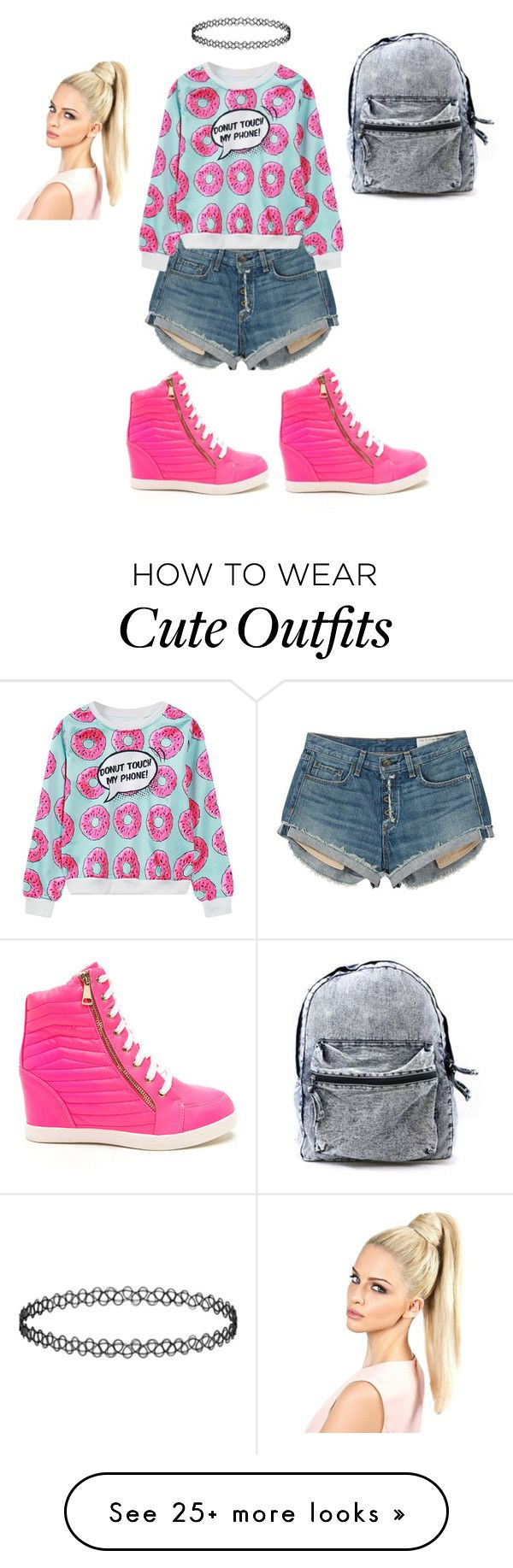 """""""Another cute school outfit"""" by jane888 on Polyvore featuring rag & bone and WithChic"""