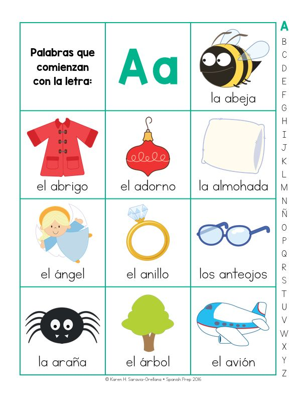 Spanish Picture Dictionary $6.00