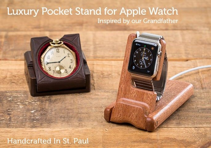 Luxury Pocket Stand for Apple Watch