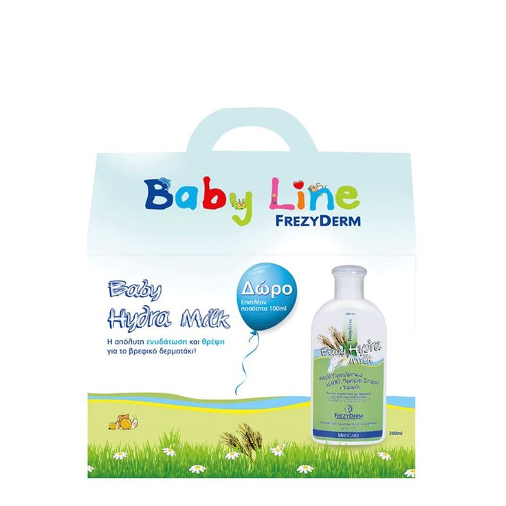 Frezyderm Baby Hydra Milk 200ml & 100ml Δώρο! 300ml μόνο 10,85€! http://www.i-cure.gr/AdvancedSearch.php?Language=el&queryString=Frezyderm+Baby&OrderBy=offers