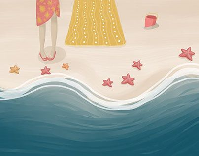 Summer is coming! and also a lot of new Illustrations!. :)
