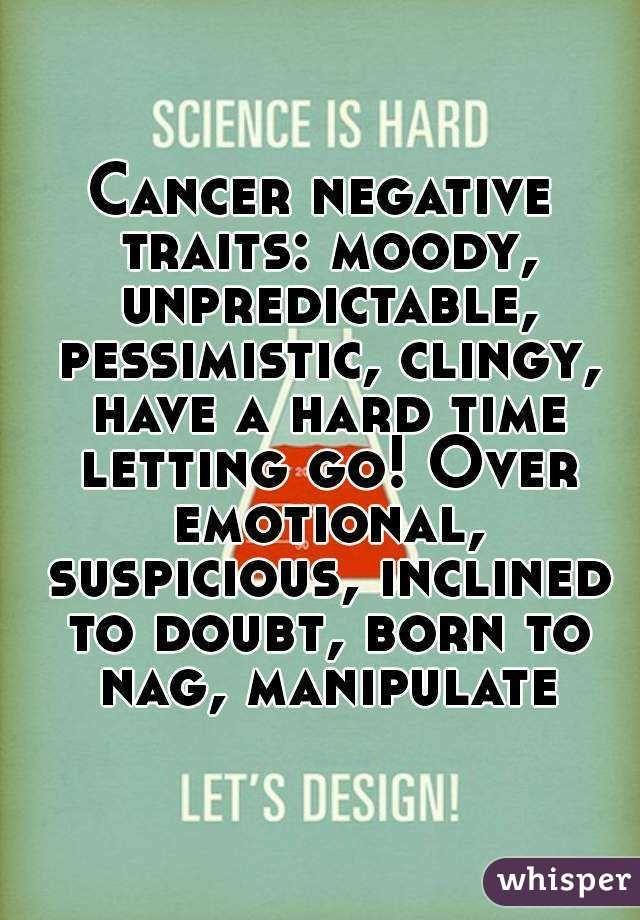 Cancer traits.