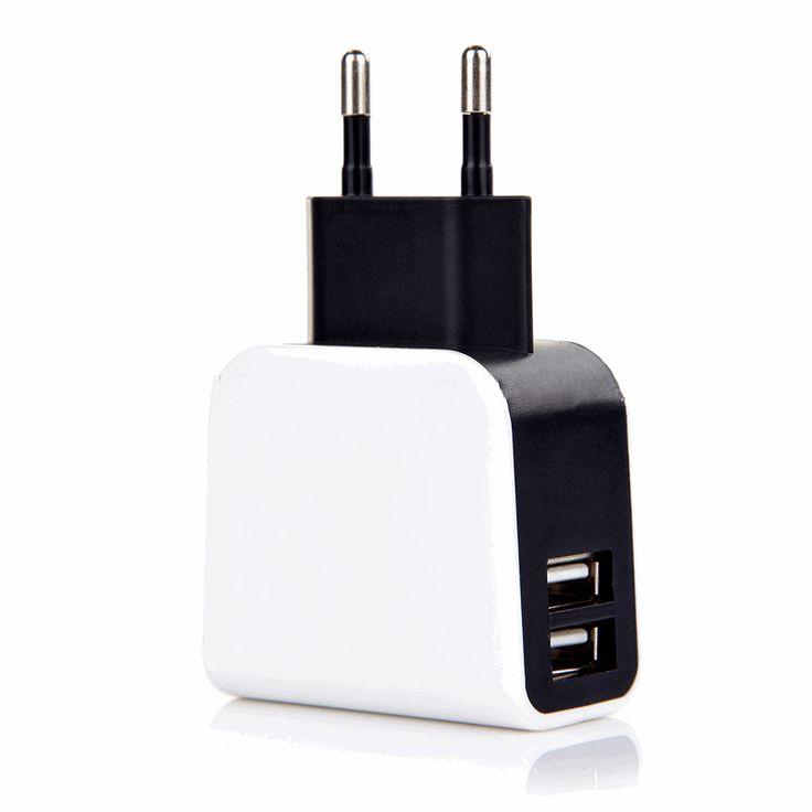 Oplader voor iPod, iPhone, iPad, 2x USB. Super krachtige oplader voor iPod, iPhone, iPad, met 2X USB, 3100mah, 15.5W, 12 maanden garantie voor 12,78,- #ikfix @ikfix