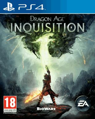 Dragons darken the sky, casting a shadow of terror over a once-peaceful kingdom. #Dragon_Age_Inquisition #PS4_Video_Games #Buy_Online_UAE