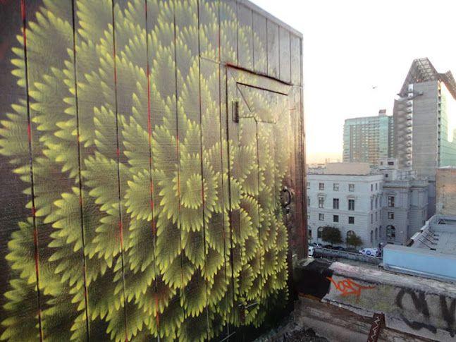 Best Street Art Images On Pinterest Urban Art Street Art - Building in berlin gets transformed by amazing 137 foot tall starling mural