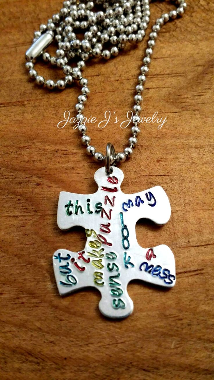 best 25+ puzzle piece necklace ideas on pinterest | puzzle jewelry