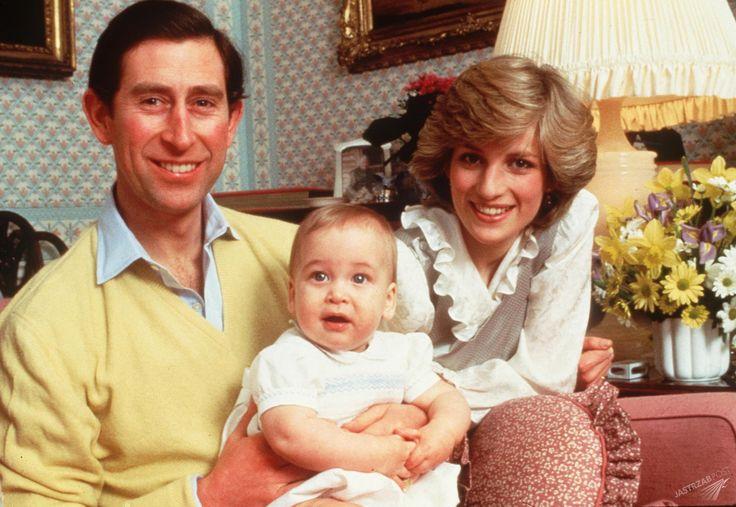 Książę William wspomina tragiczną śmierć matki. Padły wzruszające słowa - Księżna Diana z małym Williamem i Księciem Karolem