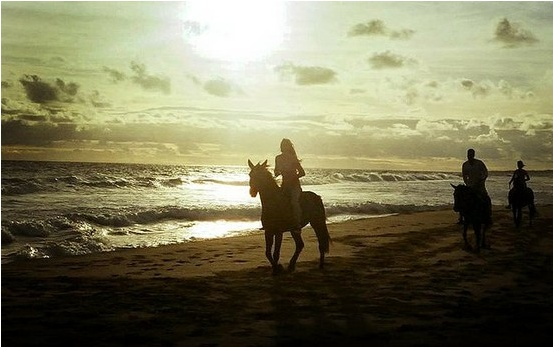 8. Ride a horse on the beach