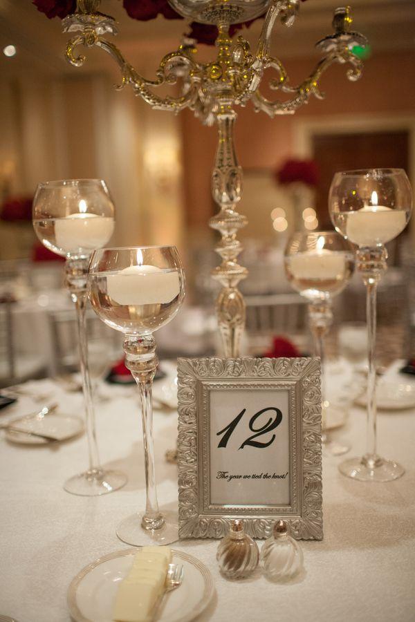An Exquisite Wedding At St. Regis Monarch Beach Resort. Reunion  CenterpiecesTable ...