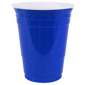 Plastic Party Cold Cups, 16 oz, Blue by SOLO. $146.90. Durable, high-quality single-use cups are perfect for any occasion. Multi-layer construction for rigidity. Don't absorb liquid and resist cracking. Just right for water, sodas and juices. Cup Type: Cold; Capacity (Volume): 16 oz; Material(s): Plastic.