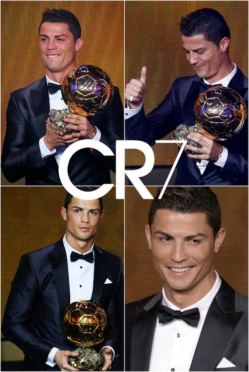 Cristiano Ronaldo 2014 - After unstoppable form CR7 deserved this award #CR7 #BallonDor