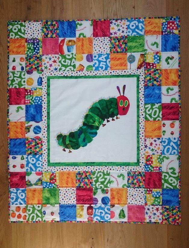 Auf Bestellung Quilt Die Kleine Raupe Nimmersatt Babydecken