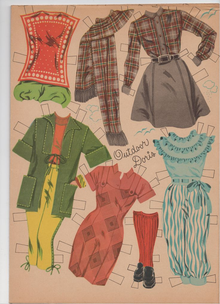 paper doll clothes Mccall's pattern doll clothes for 18 (46cm) doll, 1 size only product - mccall's patterns m6370 doll clothes for 18 dolls, one size only, one size only by mccall pattern company reduced price.