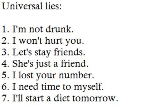 Universal Lies