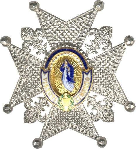 Order of Charles III - Grand cross Star