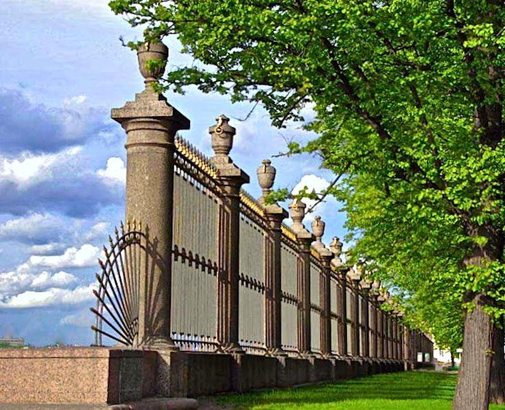 Санкт-Петербург, Летний Сад. Исторические путешествия, кинозарисовка