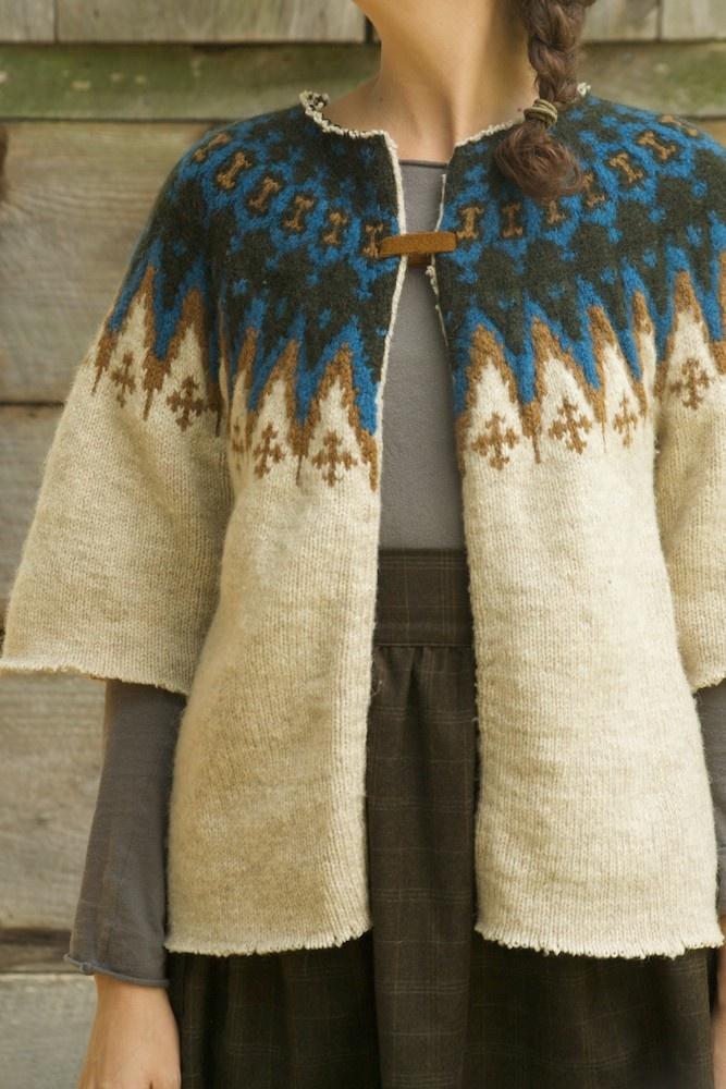 Wool sweater.