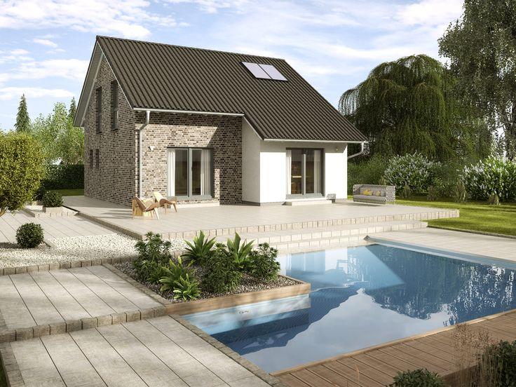 Musterhaus einfamilienhaus  41 besten Einfamilienhaus Bilder auf Pinterest | Einfamilienhaus ...