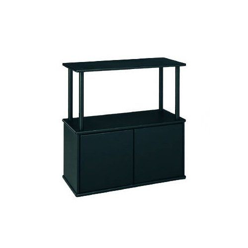 "Aquatic Fundamentals 10/20 Gallon Aquarium Stand with Cabinet - 25""; W X 14.5""; D X 27.87""; H. Black. Stand with storage compartment. Fits 10 and 20 gallon tanks. - http://www.petco.com/shop/en/petcostore/aquatic-fundamentals-1020-gallon-aquarium-stand-with-cabinet"