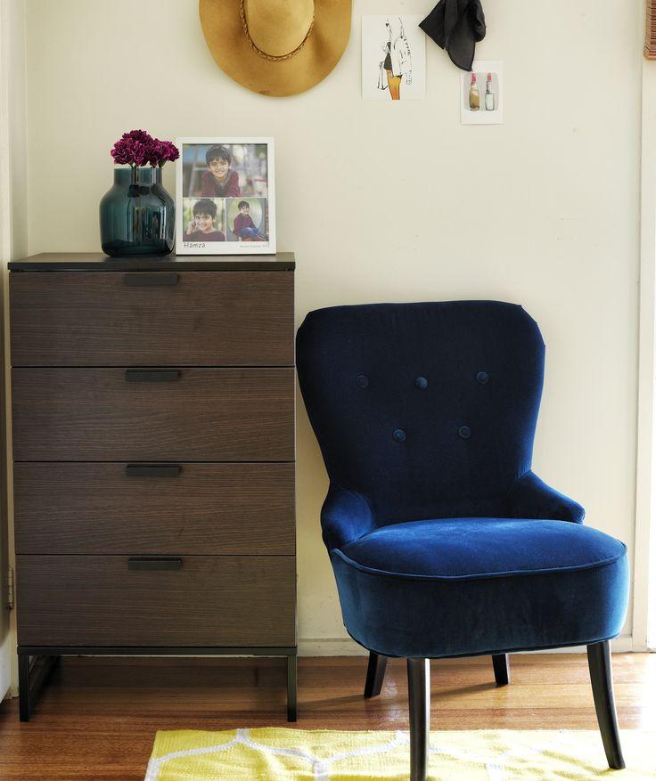 Schlafzimmer-Dekoideen: 3 Tipps   Wohnzimmersessel, Zimmer ...