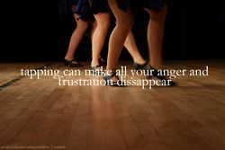 Put all your anger into your footwork!