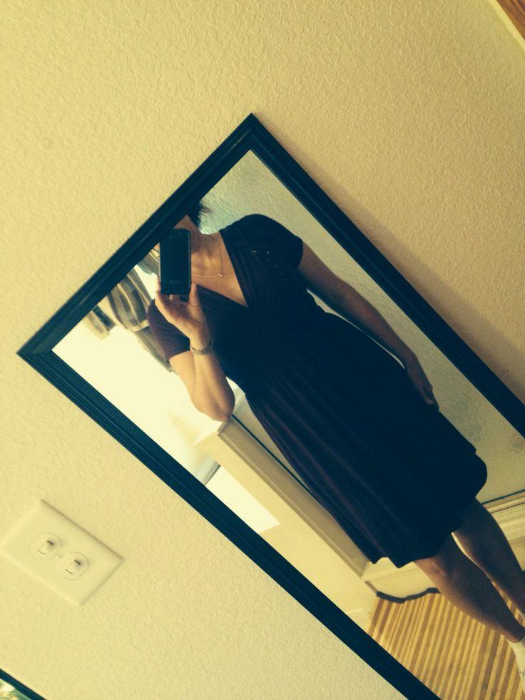 Stitch fix July '15.  Beautiful purple dress. Love the cut!!