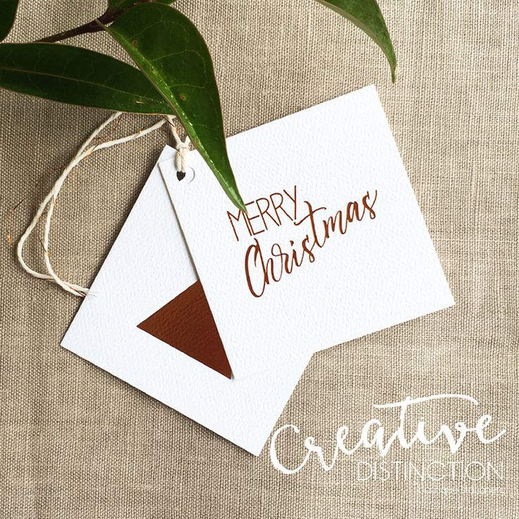 Our 2017 Christmas Cards & Swing Tags are now available to order on line. These are finished with a copper foil. For all enquires please contact us at info@creativedistinction.com.au