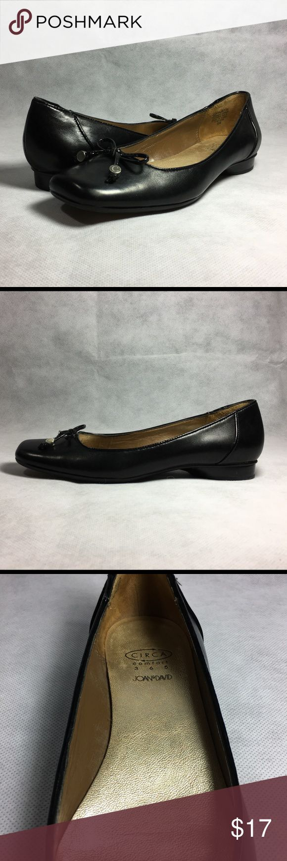 Circa Joan & David Womens Faustin Flat Shoe US 6 M Circa Joan & David Womens Faustin Flat Shoe   Size: US 6 (B, M) Color: Black   Condition: Some signs of wear with no defects. Great condition.