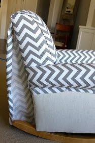 Quick & Easy Upholstery ... staple new fabric right over the old chair.  Why…
