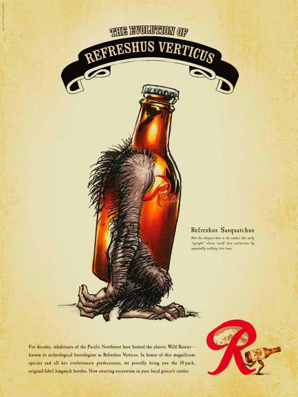 Rainier Beer by Guy Seese
