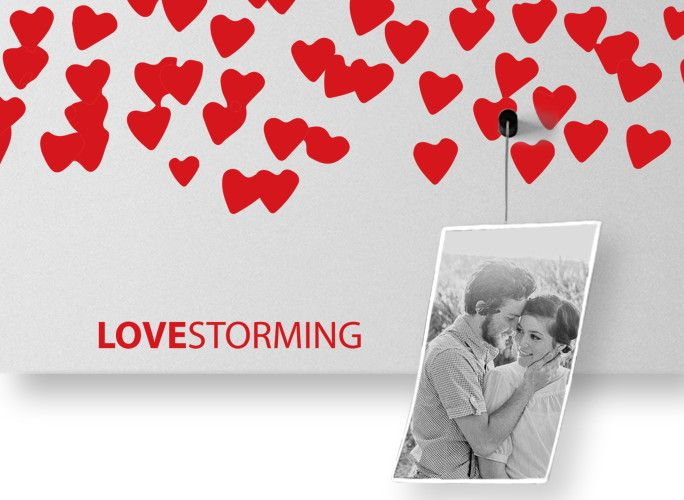 lovestorming lavagna magnetica orgbaizer