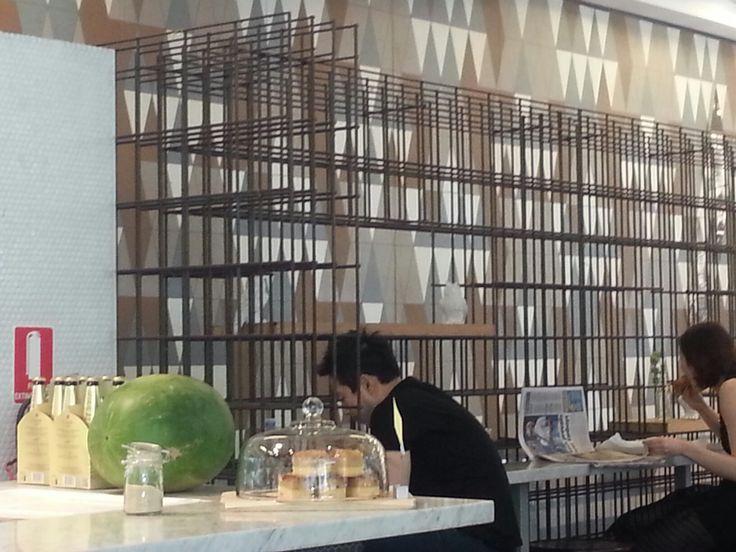partition idea - reinforcing mesh