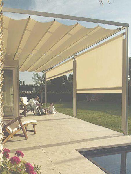 P rgolas y toldos para la terraza o el porche p rgolas for Toldos para quinchos
