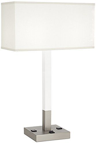 Simple Best Table Lamps With Power Outlets Reviews With Images  HomeItems