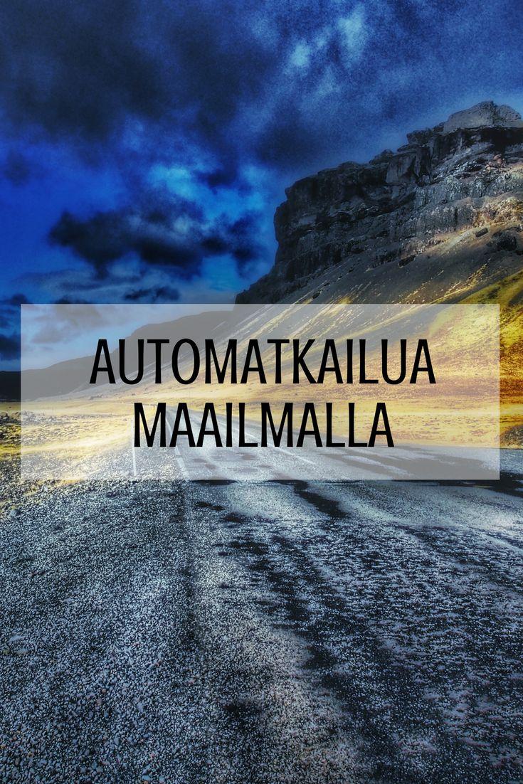 Taulun täydeltä ideoita, vinkkejä, kokemuksia ja tarinoita road trip -reissuilta Suomesta, Euroopasta ja maailmalta. Let's hit the road!