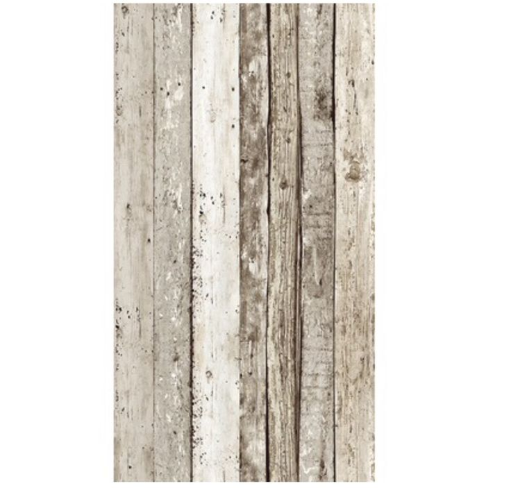 Hornbach Zelfklevende wandsticker planken, Afmetingen: 2,50 x 0,35 m €18,95