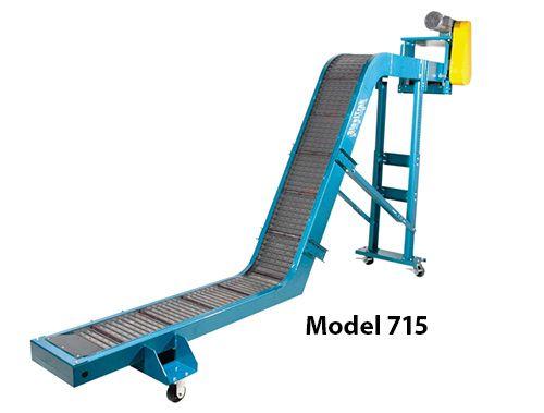 SteelTrak Hinged Steel Belt Conveyors - Model 715
