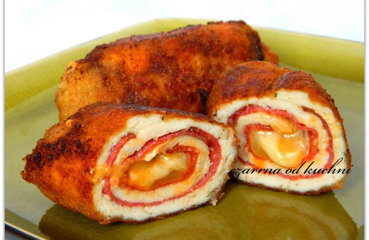 Roladki drobiowe z salami – czarrnaodkuchni