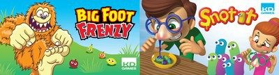KD Games Gets Gross and Goofy with Snot It and Big Foot Frenzy Games at the 2018 American International Toy Fair              NEW YORK Feb. 16 2018 /PRNewswire/  KD Group introduced the latest additions to their KD Games line today at the 2018 American International Toy Fair. Staying true to their roots as a toy company the two new additions to the KD Games line Snot It and Bigfoot Frenzy use toy-based game pieces to inspire fun and creative gameplay…
