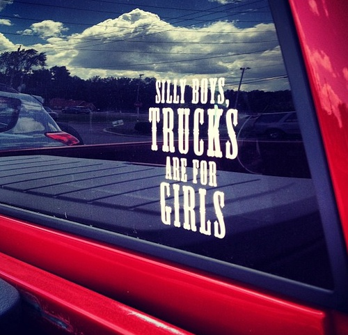 girls nude in dodge truck